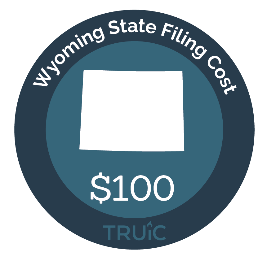 Cost to Start an LLC in Wyoming