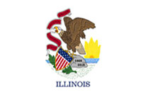 Illinois Flag icon