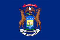 Michigan Flag Icon