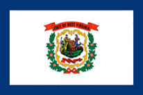 West Virginia Flag Icon