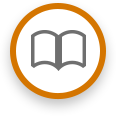 circle with book icon