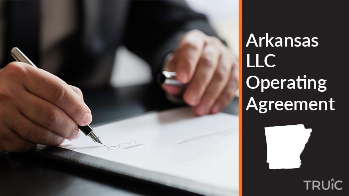 Arkansas Llc Operating Agreement How To Start An Llc